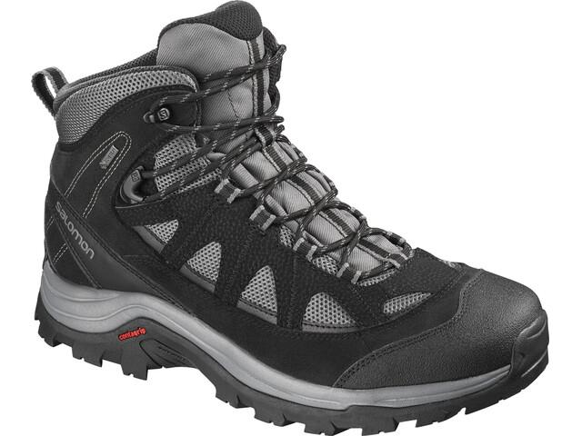 Salomon Authentic LTR GTX Shoes Men Magnet/Black/Quiet Shade
